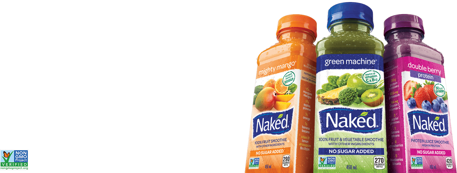 3 Naked package products